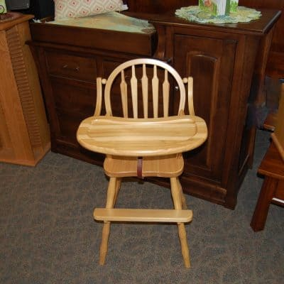 Arrow Back High Chair