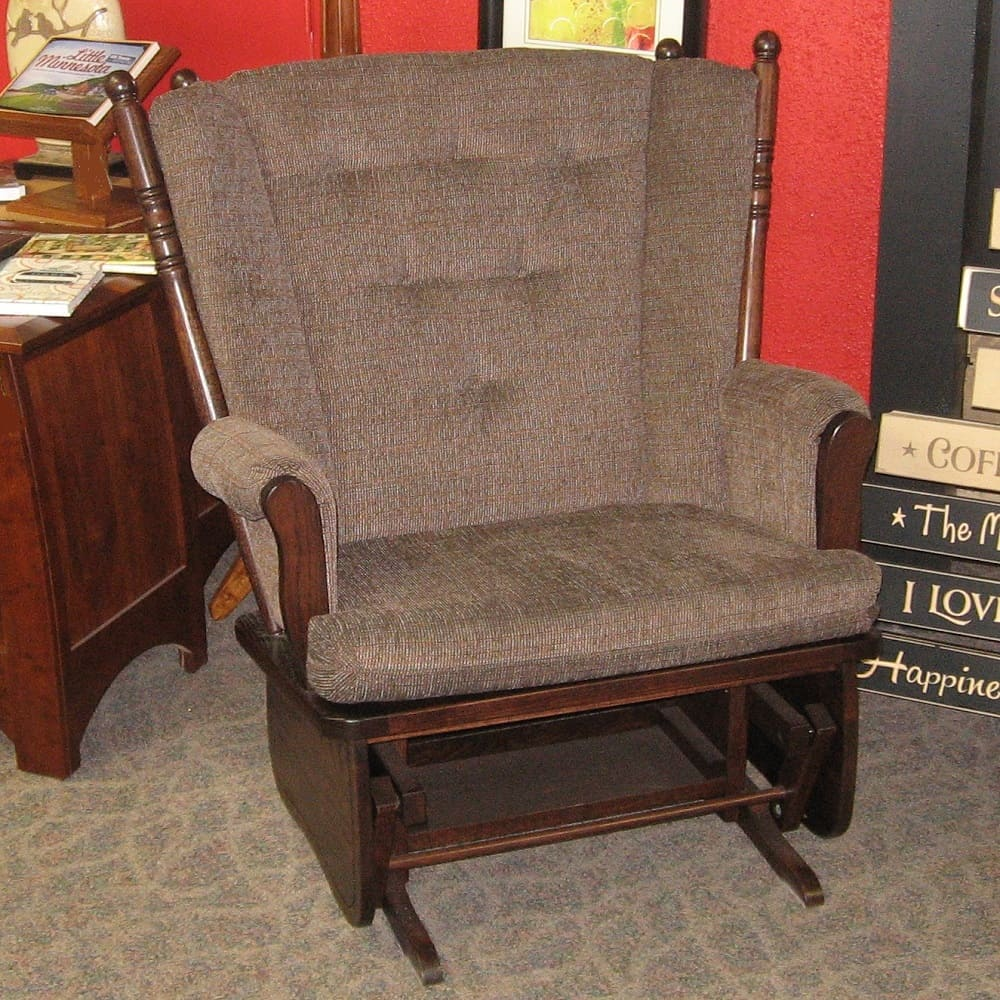Four Post Chair And A Half Amish Oak