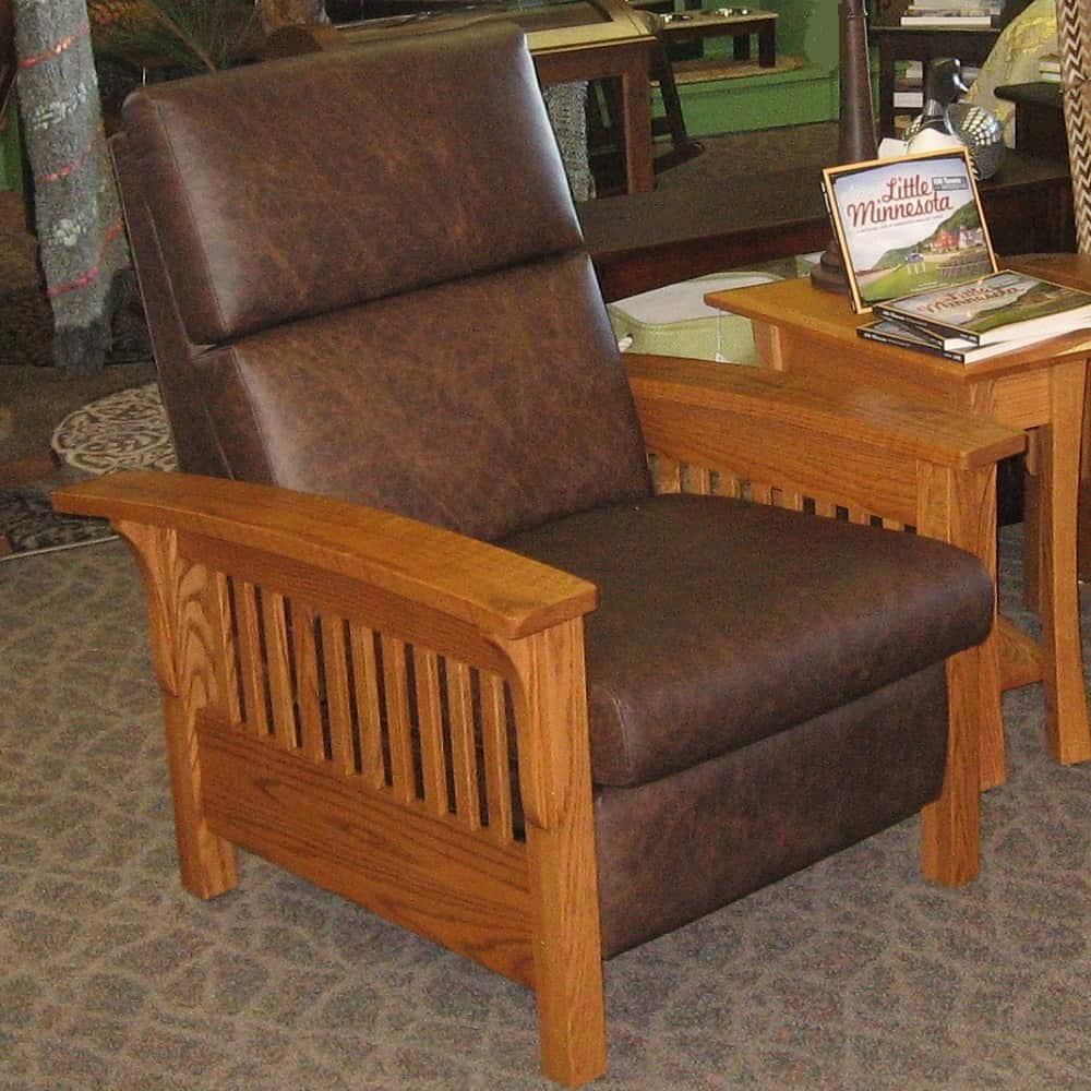 Moore Furniture Boise: Heartland Slat Recliner
