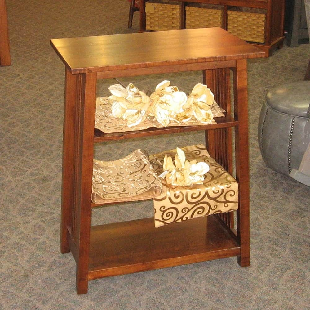 Mission Book Stand Amish Oak