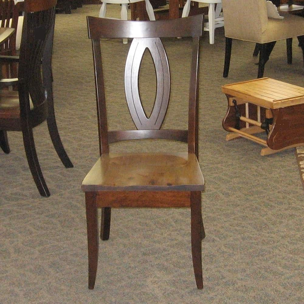 Miami side chair amish oak - Dining room sets miami ...