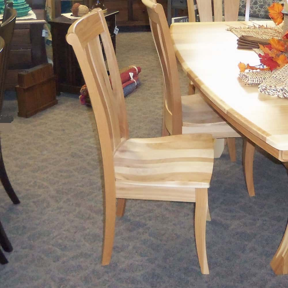 Grand Island Dining Set Shown In Hickory With A Natural Finish