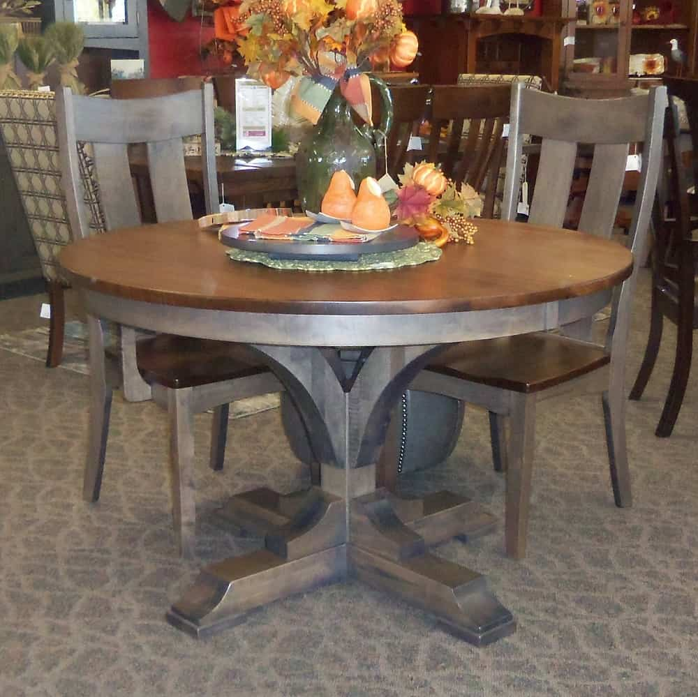 Francis Dining Table With A Two Tone
