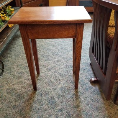 Oak Accent Table