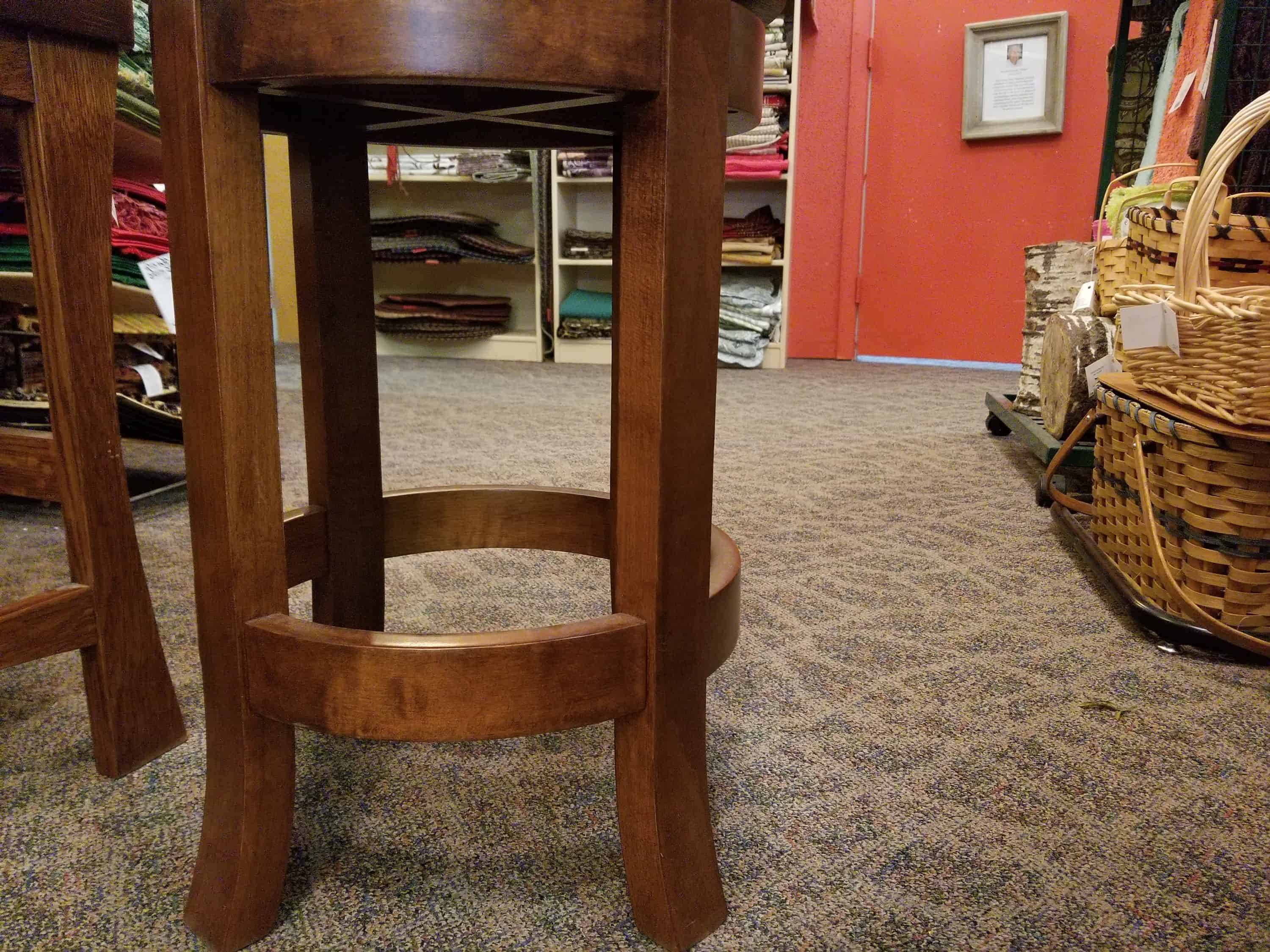 Belmont Barstool, Shown With A Quarter Sawn White Oak Top