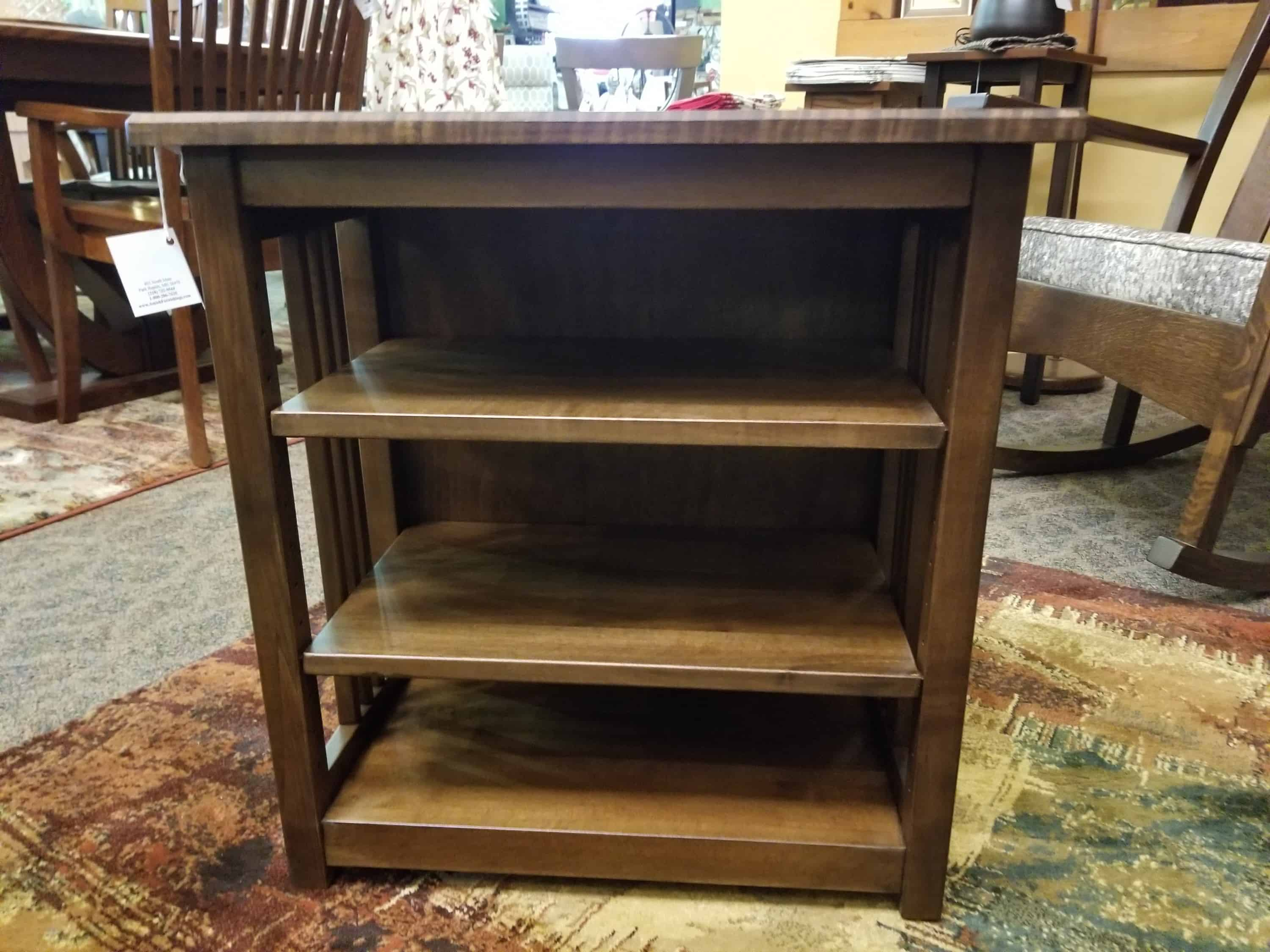 Bookcase End Table