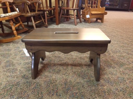 Antique Slate Slotted Bench 1