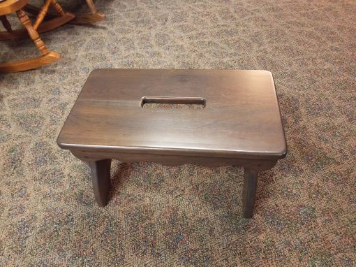 Antique Slate Slotted Bench 3