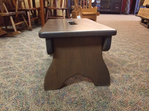 Antique Slate Slotted Bench 2