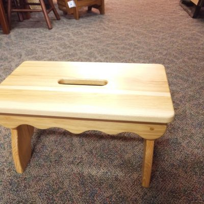 Natural Slotted Bench 1