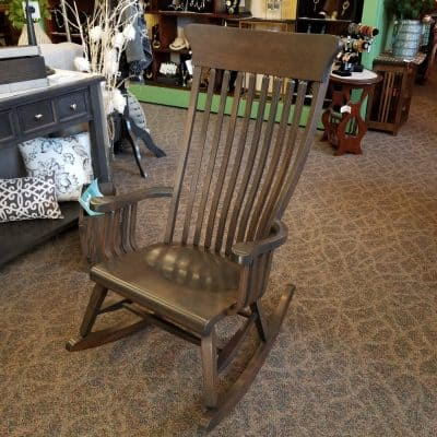 Rustic Cherry Old South Rocker 1
