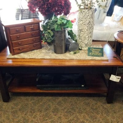 Madison Bow Coffee Table 1