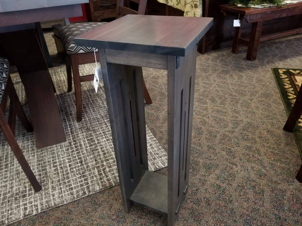 28 Quot Mission Plant Stand Shown In Brown Maple With And
