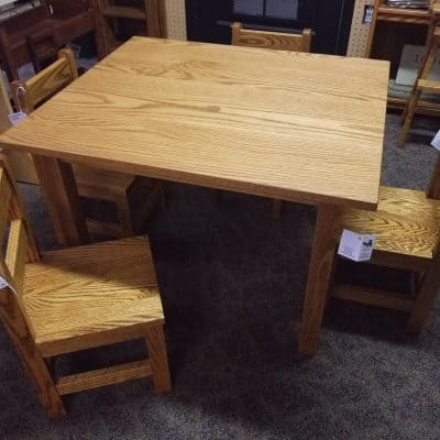 Child's Table and Chair Set 1