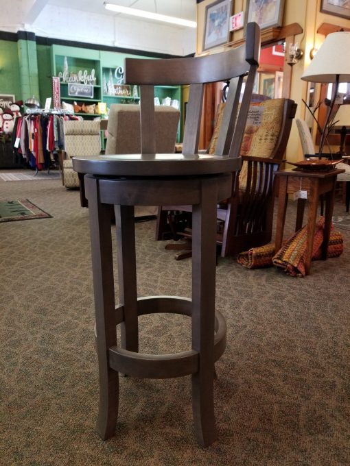 Peachy Belmont Barstool Shown In Brown Maple With A Stone Finish W A Meribeth Top Unemploymentrelief Wooden Chair Designs For Living Room Unemploymentrelieforg