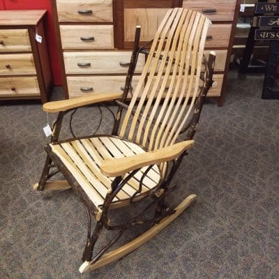 Jumbo Bent Hickory Rocker 1