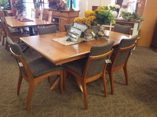 Milan Double Pedestal Table 7