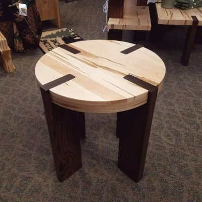 Olympic Round End Table 1