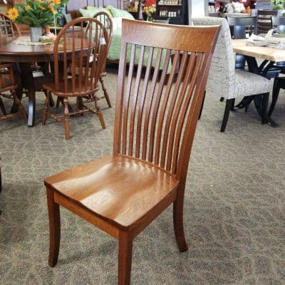 High Bent Shaker Side Chair 1
