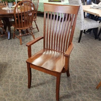 High Bent Shaker Arm Chair 1