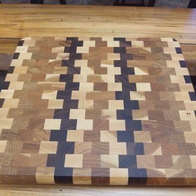 Checkered Cutting Board 1