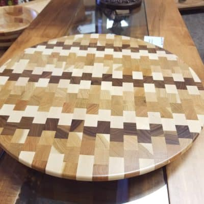 Checkered Lazy Susan 1