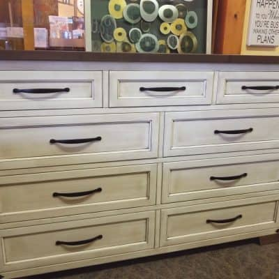 Farmhouse Heritage Tall Dresser 1