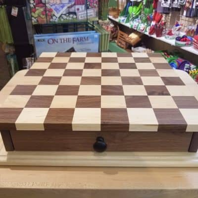 Checkerboard w/ Drawer 1