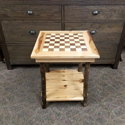 Checkerboard End Table 1