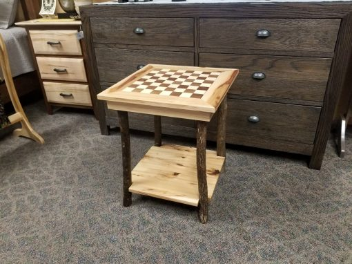Checkerboard End Table 2
