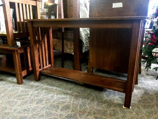 Country Mission Sofa Table 2