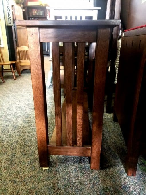 Country Mission Sofa Table 4