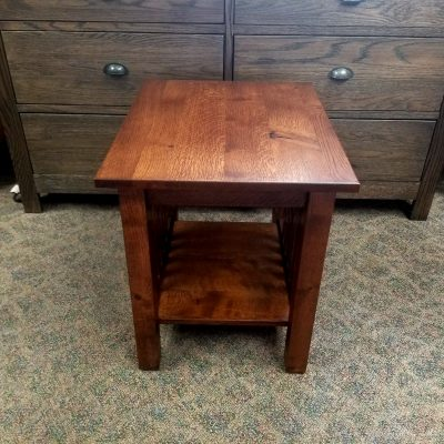 Country Mission End Table 1