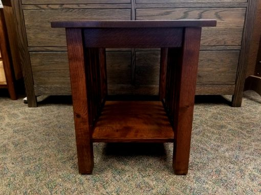 Country Mission End Table 2