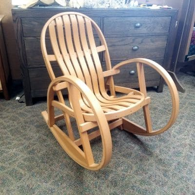 Amish Bent Poly Rocker 1