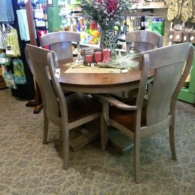Montana Round Pedestal Table 1