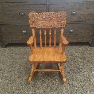 Sunburst Child's Rocker 1