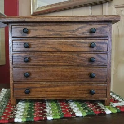 5 Drawer Jewelry Chest 1