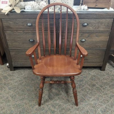 High Bent Feather Arm Chair 1