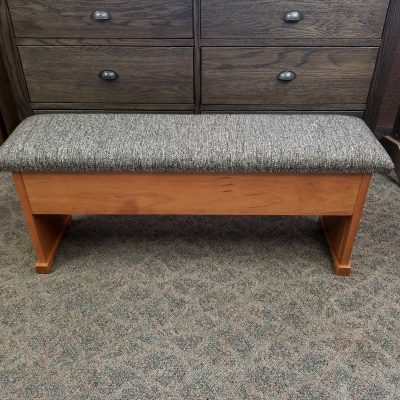 4' Plank Bench with Storage 1