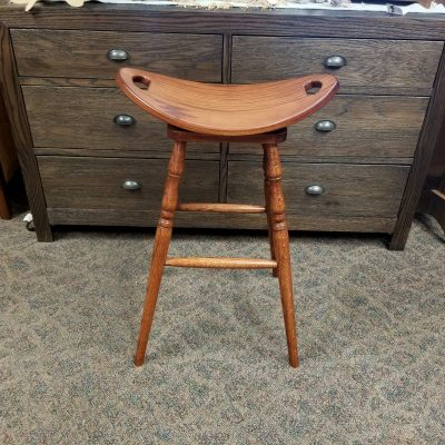 "30"" Swivel Saddle Stool 1"